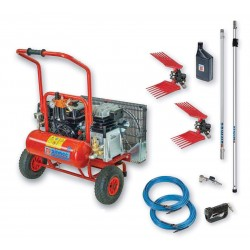 motocompressore HP 6,5 litri 10 airmec KIT EASY 510