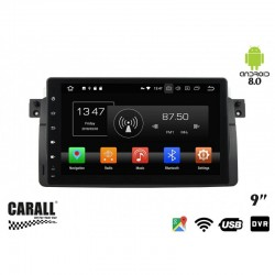 Autoradio Android 8,0 BMW E46 GPS DVD USB SD WI-FI Bluetooth Navigatore