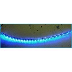 Striscia Strip Led 48cm 48 LED F5 Impermeabile Blue Blu 12V